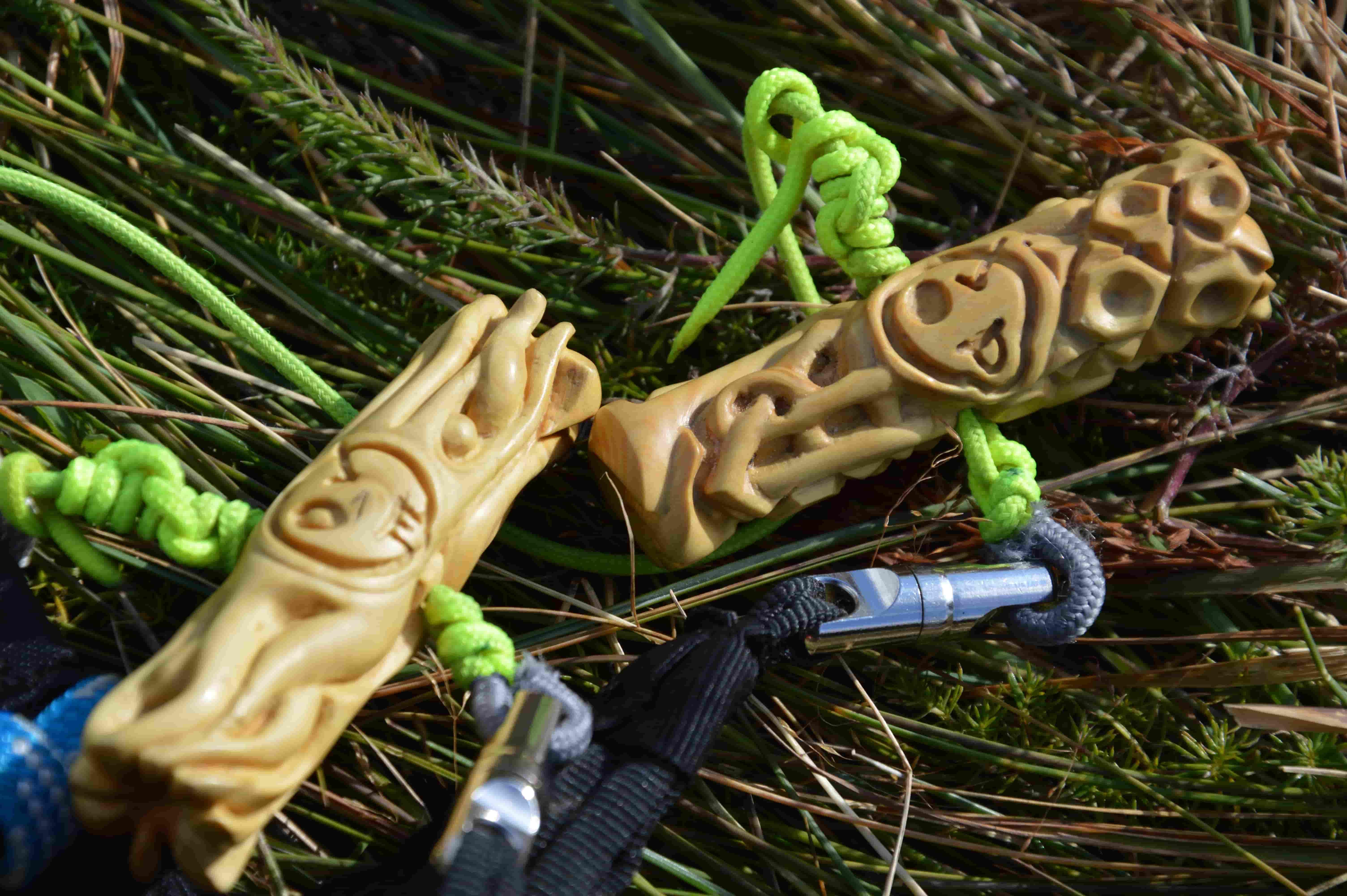 Poignées parapente Acro personnalisé Au fil du vent